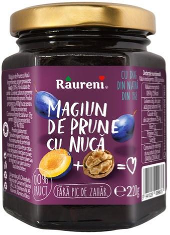 RAURENI MAGIUN DE PRUNE CU NUCA 220GR