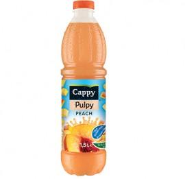 Cappy pulpy de melocotones 1,5l