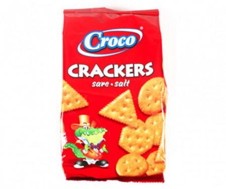 CROCO CRACKERS CU SARE 100 gr