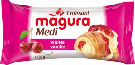 MAGURA CROISSANT VISINE VANILIE 80 GR