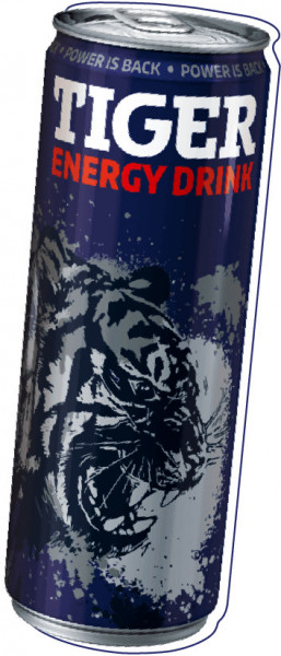 TIGER ENERGY DRINK CLASSIC 250ML