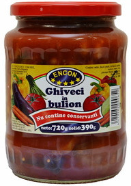 ENCON GHIVECI IN BULION 720 gr