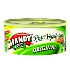 MANDY PATE VEGETAL ORIGINAL 120 gr