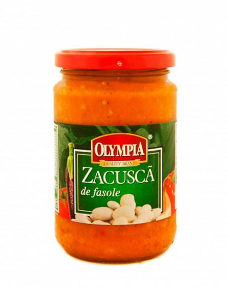 OLYMPIA ZACUSCA DE FASOLE 314 ML