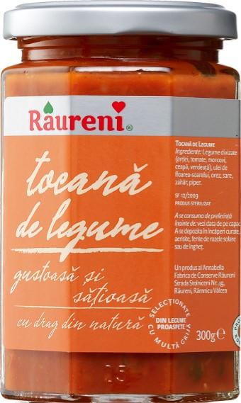 RAURENI TOCANA DE LEGUME 300GR