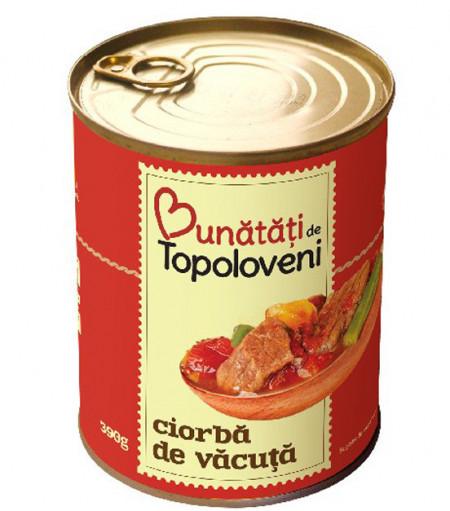 TOPOLOVENI CIORBA DE VACUTA 400GR