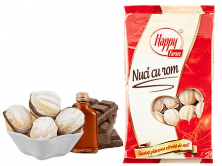 HAPPY NUCI CU ROM 500 gr