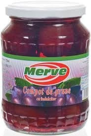 MERVE COMPOT DE PRUNE 720 ml