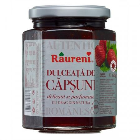 RAURENI DULCEATA DE CAPSUNI 350GR