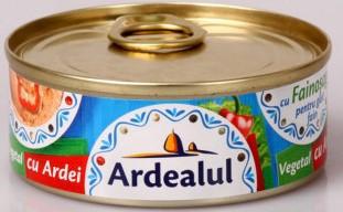 ARDEALUL PATE VEGETAL CU ARDEI 100 gr