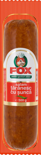 FOX SALAM TARANESC CU SUNCA 500 gr