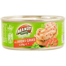 MANDY PATE VEGETAL CU ARDEI GRAS 120 gr