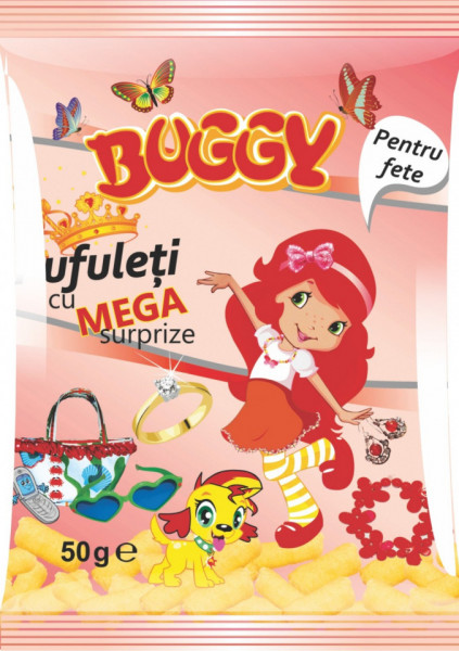 BUGGY PUFULETI MEGA SURPRIZE FETE 50 gr