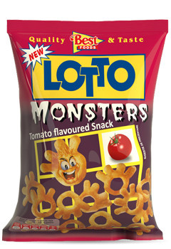 LOTTO MONSTERS 35 gr