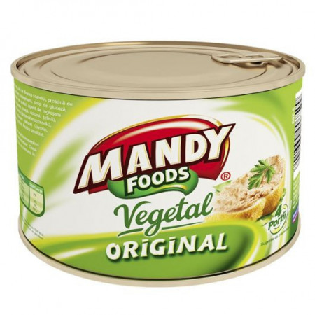 MANDY PATE VEGETAL CU ARDEI GRAS 200 gr