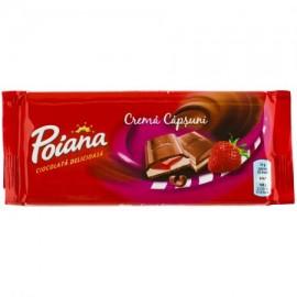 Poiana chocolate con fresas 90g