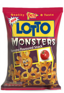 LOTTO MONSTERS 75 gr