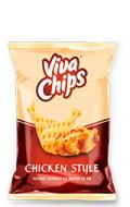 VIVA CHIPS PUI 100GR