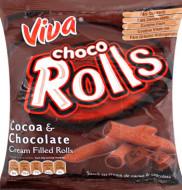 VIVA CHOCO ROOLS 100GR