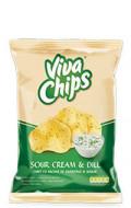 VIVA CHIPS SMANTANA SI MARAR 100GR