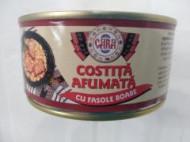 CARA COSTITA AFUMATA CU FASOLE 300 GR