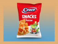 CROCO SNACKS BACON 25 GR
