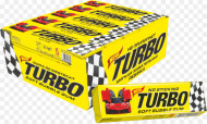 TURBO GUMA DE MESTECAT 4,5 gr* 100 UD
