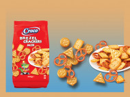 CROCO MIX CRACKERS & BREZEL 500 gr