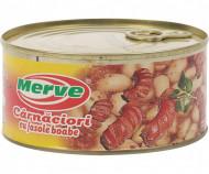 MERVE CARNACIORI CU FASOLE 300GR