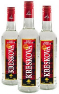KRESKOVA DRY SPIRIT VODKA 500 ML 28%