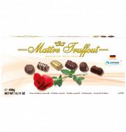 MAITRE TRUFFOU ASORTED PRALINE ROSE 180GR