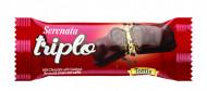 TRIPLO NAPOLITANE CU CIOCOLATA 50 GR