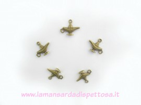 Charm lampada di Aladino bronzo immagini
