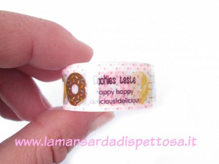 Deco tape Cookies taste immagini