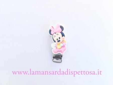 1 clip portaciuccio Minnie baby immagini