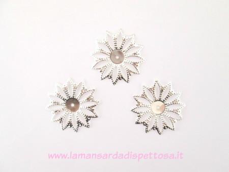 Filigrana fiore silver immagini