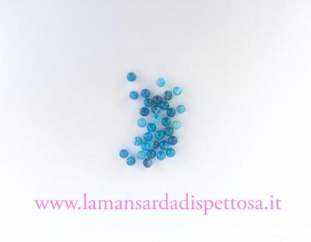 12 perle in agata 4mm. immagini