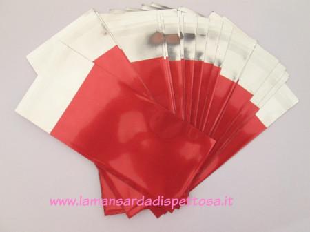 10 buste regalo autoadesive rosse immagini