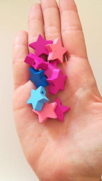 5 stelle in legno immagini