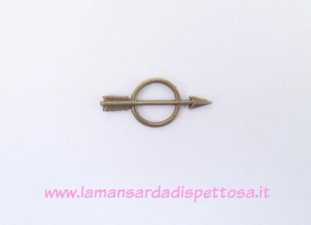 Connettore charm freccia bronzo immagini