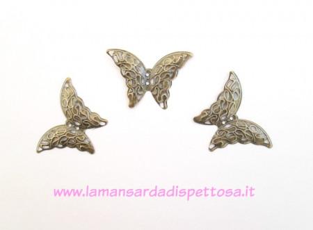 Filigrana farfalla bronzo immagini