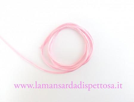 1mt. di cordoncino coda di topo rosa immagini