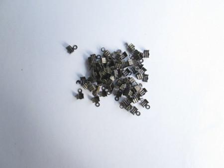 50 chiudifilo bronzo 7x5mm. immagini