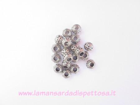 Perla pandora metallica 10mm. immagini