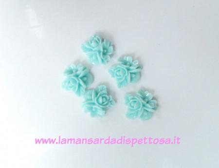 1 coppia cabochon fiori tiffany immagini