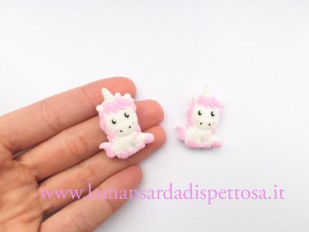 1 unicorno in silicone rosa immagini