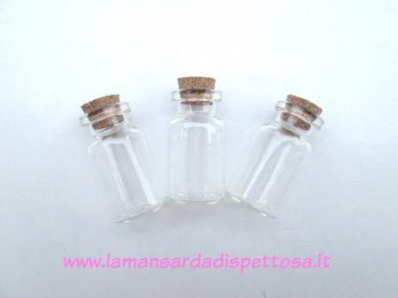 Bottiglietta in vetro 22x45mm. immagini