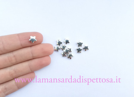 5 perle charms stellina immagini