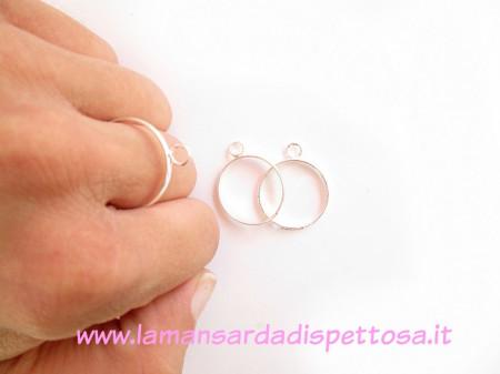 Base per anello con anellino immagini