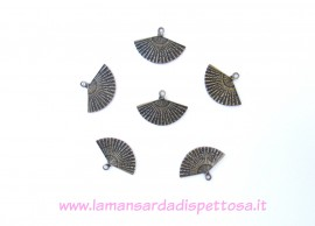 Charm ventaglio bronzo immagini